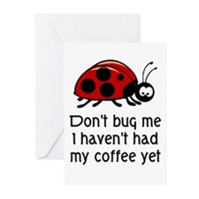 Coffee Lover Greeting Cards (Pk of 20)