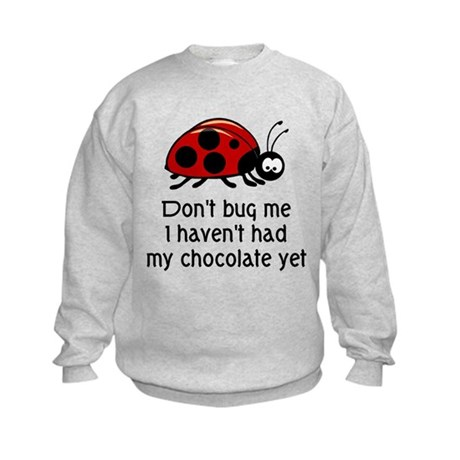 Chocolate Lover Kids Sweatshirt