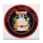 Seekers Flight Test Tile Coaster