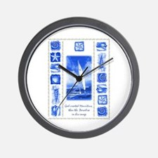 Mauritius paradise 2 Wall Clock