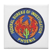 FBI Phoenix Tile Coaster