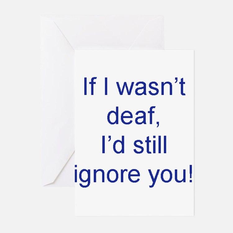 Cute Deaf Greeting Cards (Pk of 20)