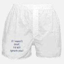 Cute Deaf Boxer Shorts