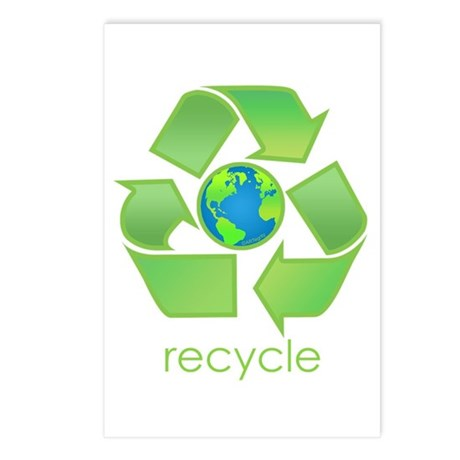 Recycle Postcards (Package of 8)
