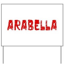 Arabella Faded (Red) Yard Sign