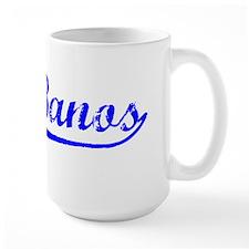 Vintage Los Banos (Blue) Mug