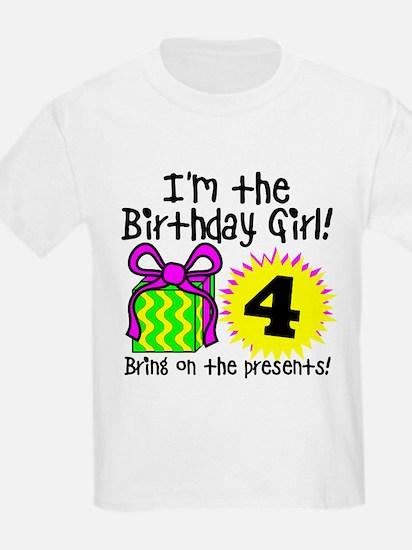Fourth Birthday T-Shirt