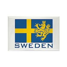 Sweden Flag Rectangle Magnet
