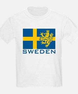 Sweden Flag T-Shirt