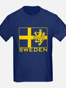 Sweden Flag T