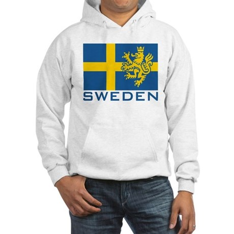 Sweden Flag Hooded Sweatshirt