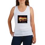 Sunset fishing Women's Tank Top