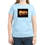 Sunset fishing Women's Light T-Shirt