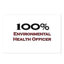 100 Percent Environmental Health Officer Postcards