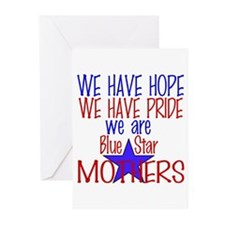BLUE STAR MOTHERS Greeting Cards (Pk of 10)