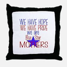 BLUE STAR MOTHERS Throw Pillow