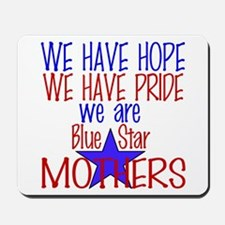 BLUE STAR MOTHERS Mousepad