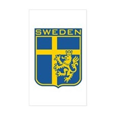 Sweden Rectangle Stickers
