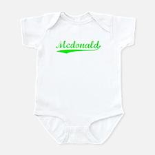 Vintage Mcdonald (Green) Infant Bodysuit