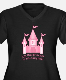 I'm The Princess In This Fairytale Women's Plus Si