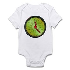 All 13th Hour Clock items Infant Bodysuit