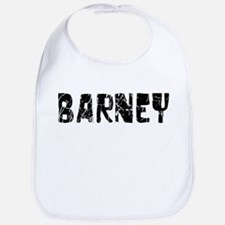 Barney Faded (Black) Bib