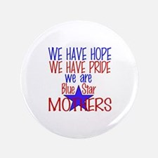 """BLUE STAR MOTHERS 3.5"""" Button"""