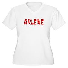 Arlene Faded (Red) T-Shirt