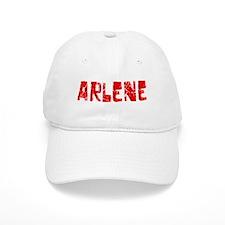 Arlene Faded (Red) Baseball Cap