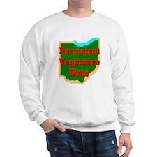 oHIo Vegetative State Sweatshirt