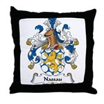 Nassau Family Crest Throw Pillow