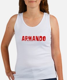 Armando Faded (Red) Women's Tank Top