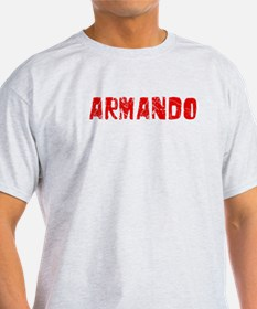 Armando Faded (Red) T-Shirt