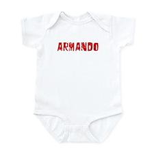 Armando Faded (Red) Infant Bodysuit