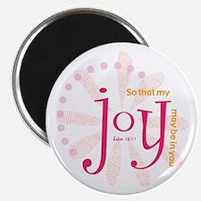 """Joy 2.25"""" Magnet (100 pack)"""
