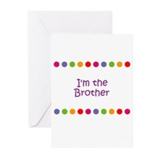 I'm the Brother Greeting Cards (Pk of 10)