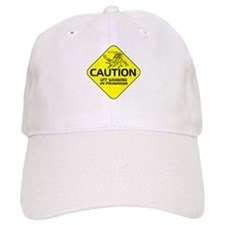 CAUTION Off Gassing Baseball Cap
