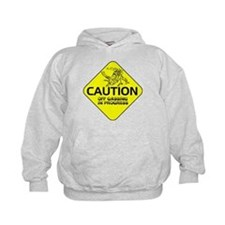 CAUTION Off Gassing Hoodie
