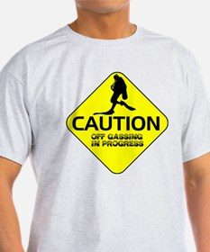 CAUTION Off Gassing 2 T-Shirt
