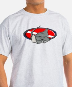 Oval with Stingray T-Shirt