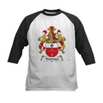 Nachtigal Family Crest Kids Baseball Jersey