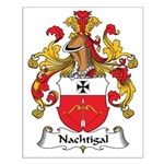 Nachtigal Family Crest Small Poster
