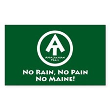 "At ""No Rain, No Pain, No Maine"" Decal"