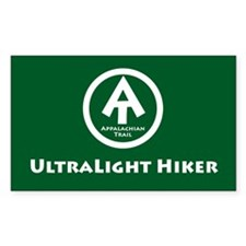 "At ""Ultralight Hiker"" Decal"