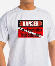 Danger Deep/Total with dive f T-Shirt