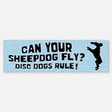 Disc Old English Sheepdog Bumper Bumper Bumper Sticker