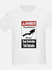 Danger Tech Diver T-Shirt