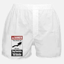 Danger Tech Diver Boxer Shorts