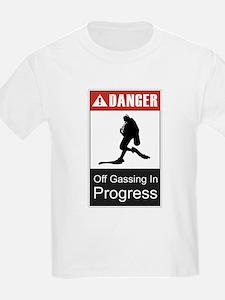 Danger Off Gassing 2 T-Shirt