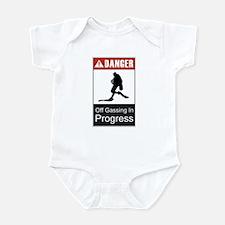 Danger Off Gassing 2 Infant Bodysuit